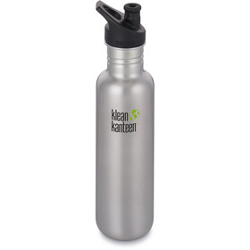 Klean Kanteen Classic Drinkfles Sport Cap 800ml, brushed stainless